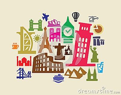 Lopp och landmarks