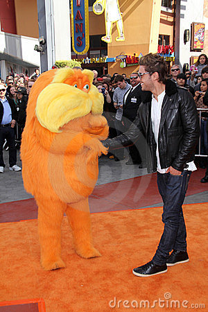 The Lorax, Zac Efron Editorial Image