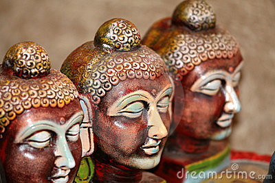 Lord buddha faces