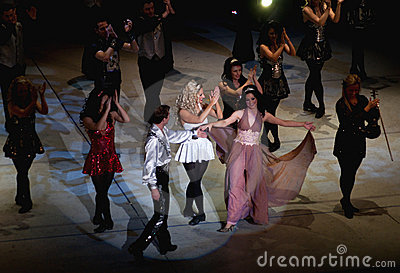Lord of the dance performance Editorial Image