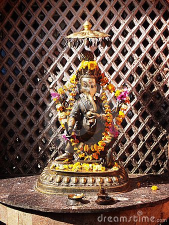 Lord Ganesh, hindu god