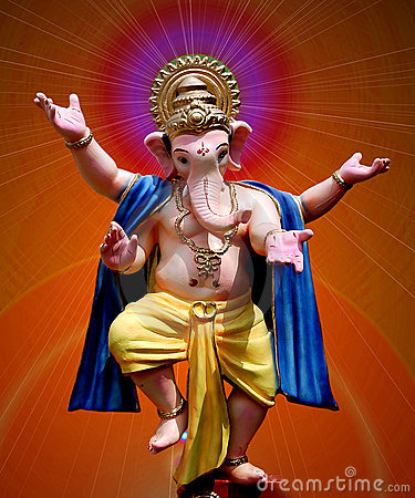 Lord Ganesha - dancing