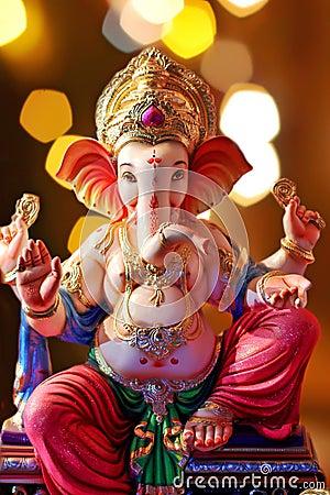 Free Lord Ganesha Ganesh Chaturthi Royalty Free Stock Photos - 125521928