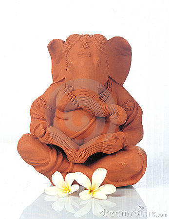 Free Lord Ganesha - God Of Good Luck Stock Photo - 204150