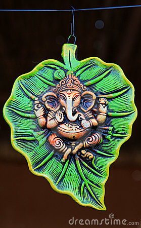 Lord Ganesha wall-hanging