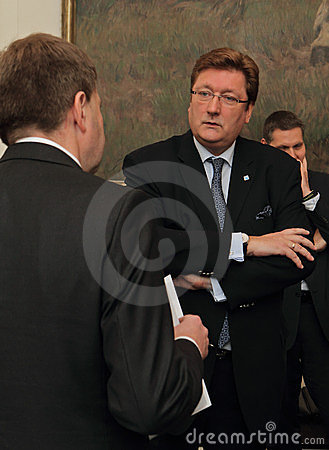 Lord Mayor of Düsseldorf Editorial Photo