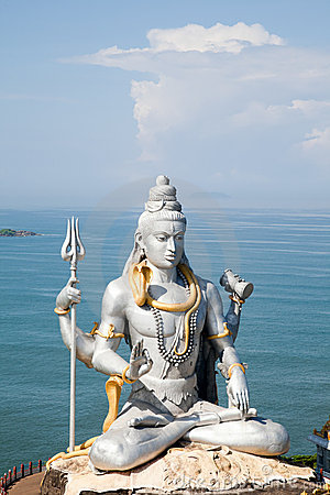 Lord Shiva Idol Stock Photo - Image: 21994400