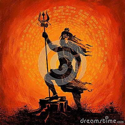 Free Lord Shiva Indian God Of Hindu Stock Image - 67585881