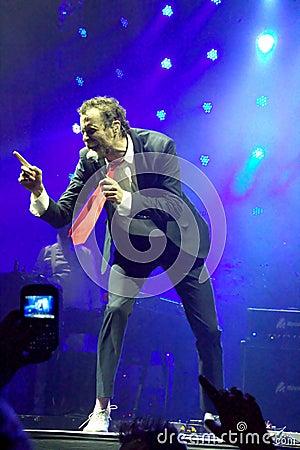 Lorenzo cherubini in ars jovanotti Editorial Image