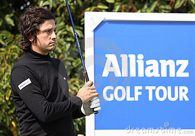 Lorenzo Vera at the Golf Open de Paris 2009 Editorial Image