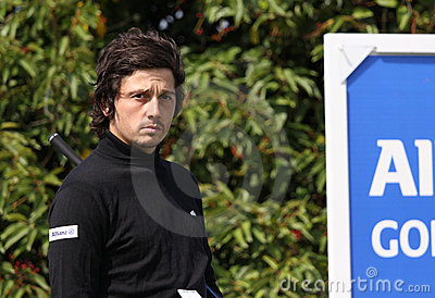 Lorenzo Vera at the Golf Open de Paris 2009 Editorial Stock Photo