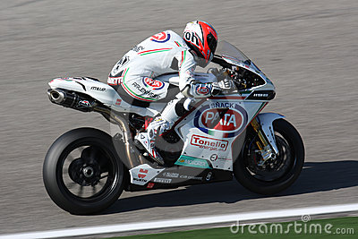 Lorenzo Zanetti - Ducati 1098R - PATA Racing Team Editorial Photo
