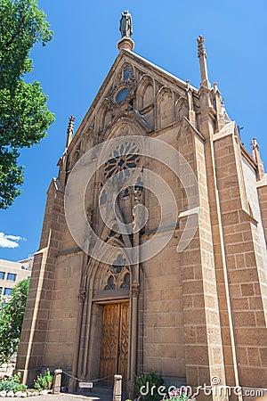 Free Loretto Chapel In Downtown Santa Fe New Mexico Royalty Free Stock Photos - 72999468