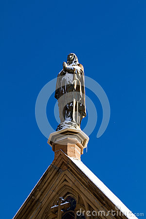 Free Loretto Chapel, Santa Fe, New Mexico Royalty Free Stock Image - 28195336