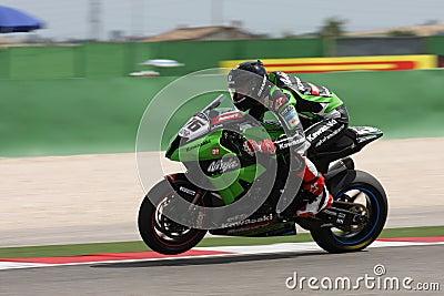 Loris Baz - Kawasaki ZX-10R Racing Team Editorial Photo