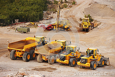 Lorry trucks and tractors