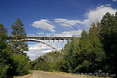Los Alamos Canyon Bridge