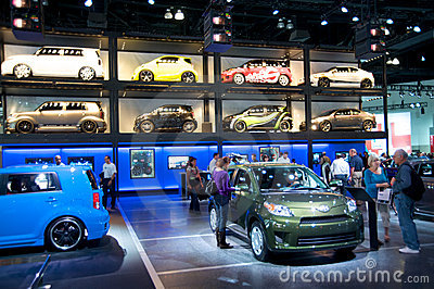 Los Angeles Auto Show Royalty Free Stock Photo - Image: 17125755