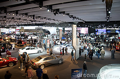 Los Angeles Auto Show Editorial Image