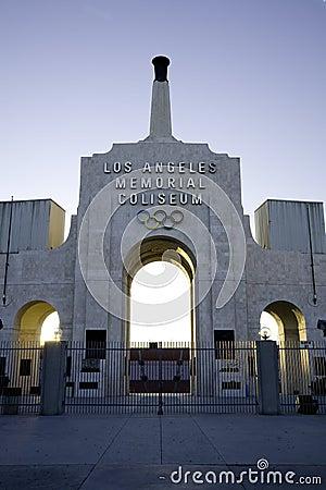 Free Los Angeles Coliseum 2 Royalty Free Stock Photo - 2320545