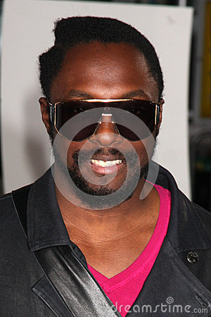 Black Eyed Peas,Will. I. Am Editorial Image