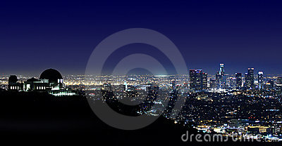 Los Angeles Griffith Observatory Los Angeles, CA Editorial Photography