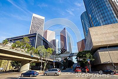 los angeles la californie paysage urbain du centre des etats unis photo stock image 50996431. Black Bedroom Furniture Sets. Home Design Ideas