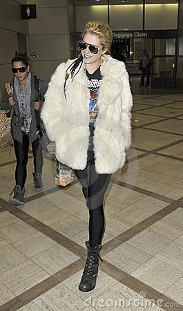 LOS ANGELES -Singer Kesha is seen at LAX Editorial Photography