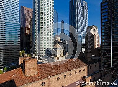 Los Angeles Skyline Editorial Photography