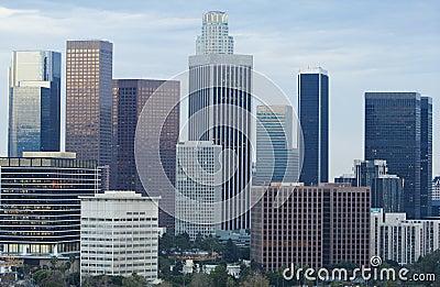 Los Angeles Skyline in Daytime