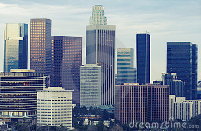 Los Angeles Skyline in Daytime