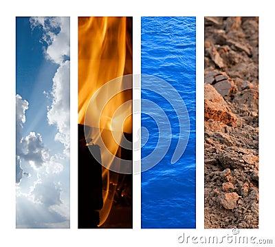 Los 4 Elementos de la Naturaleza