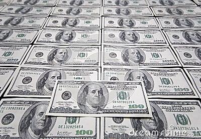 Los E.E.U.U. cientos dólares