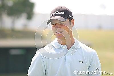 Los franceses del golf de Martin Kaymer (GER) abren 2009 Imagen de archivo editorial