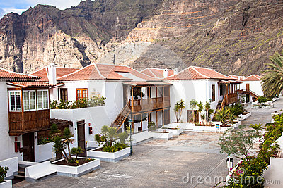 Los Gigantes holiday resort. Tenerife. Spain. Editorial Stock Image