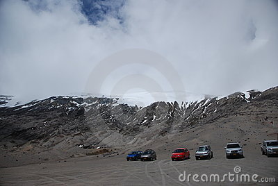 Los Nevados National Natural Park Editorial Stock Image