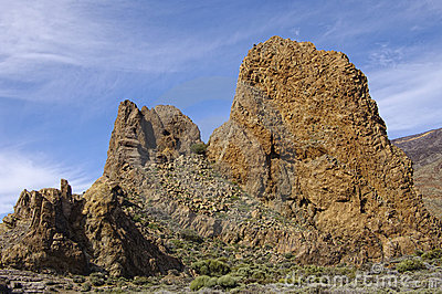 Los Roques at El Teide National Park.