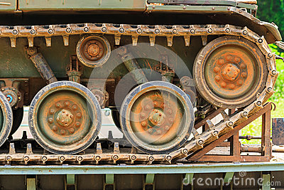 Los tanques militares.