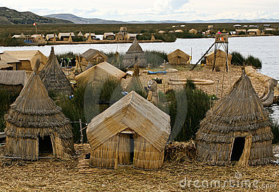 Los Uros floating islands