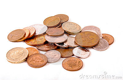 Loose Change Money And Coins Stock Photos - Image: 4409433