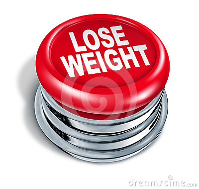 Free Lose Weight Fast Button Royalty Free Stock Images - 24477129