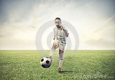 Loser Football Player