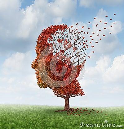 Free Losing Brain Function Royalty Free Stock Photos - 31489848