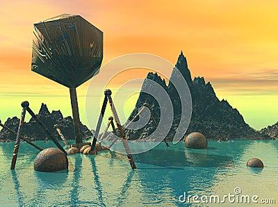 Lost Alien world