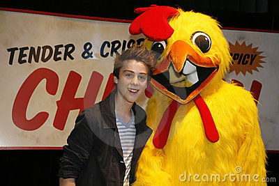 Lost Auction Beaumon with Mr. Cluck Editorial Stock Photo