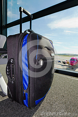 Lost baggage on the airport