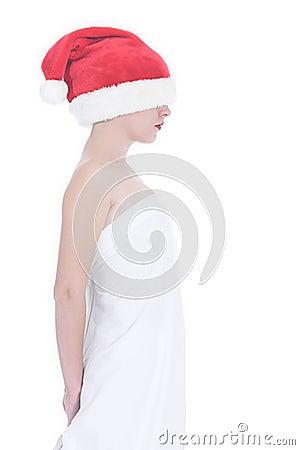 Lost christmas girl