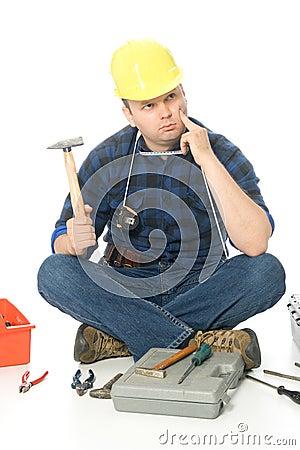 Lost handyman