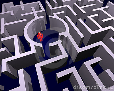 Lost in labyrinth