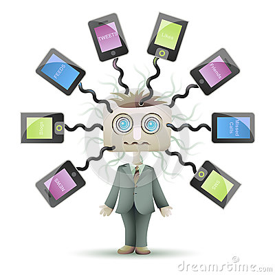 Lost in Social Network